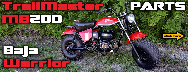 TrailMaster MB200 Dirt Bike