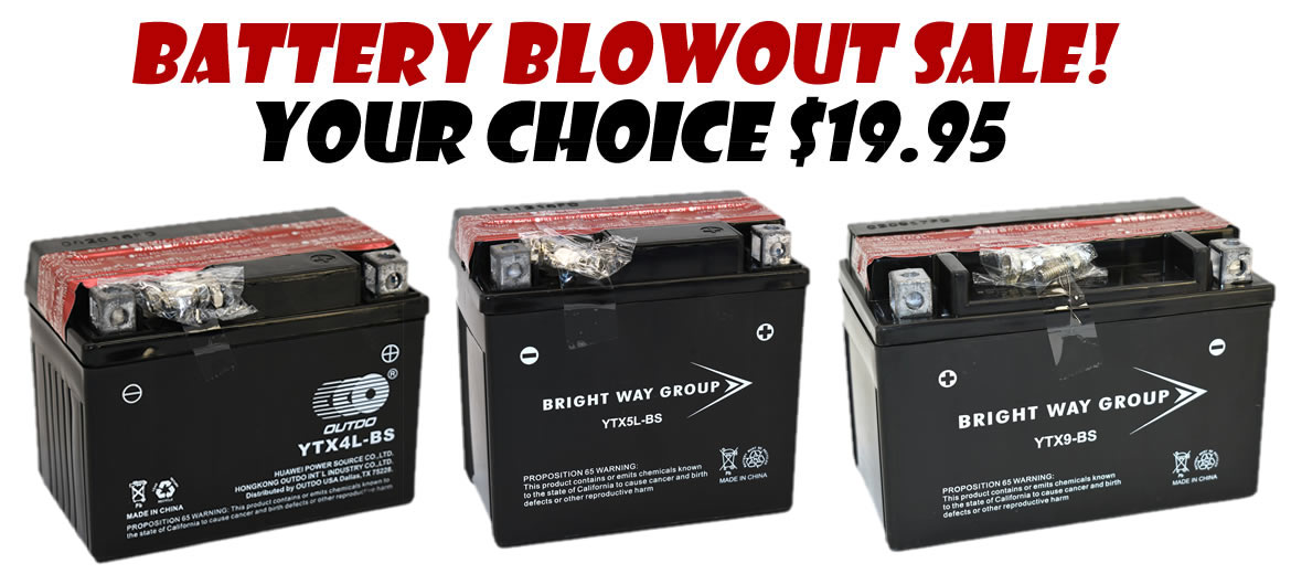 go-kart battery sale