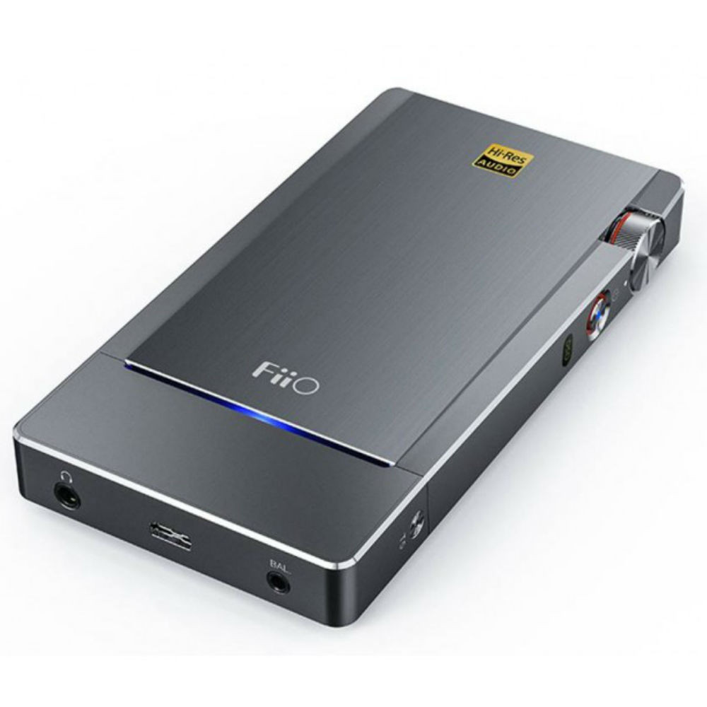 Fiio Q5 Bluetooth and DSD-Capable DAC & Amplifier (Titanium)