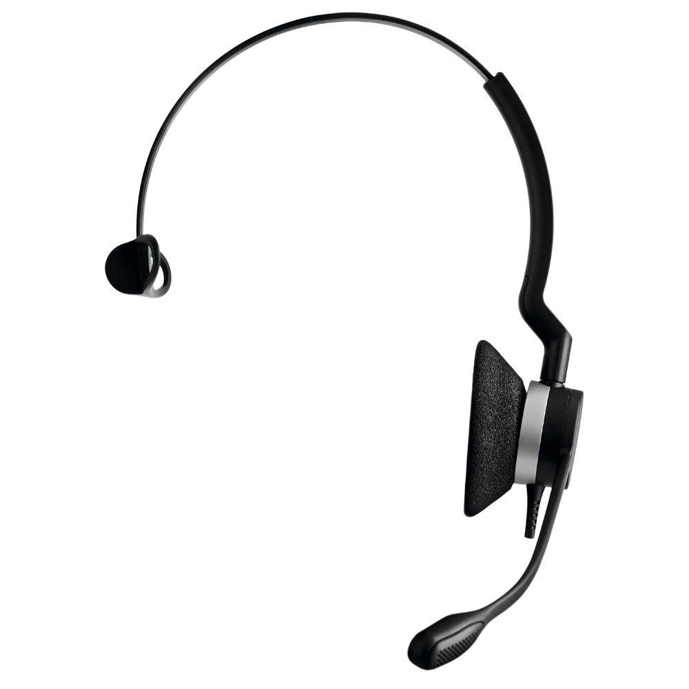 Jabra Biz 2300 MS Mono QD Quick Disconnect Headset (Black)