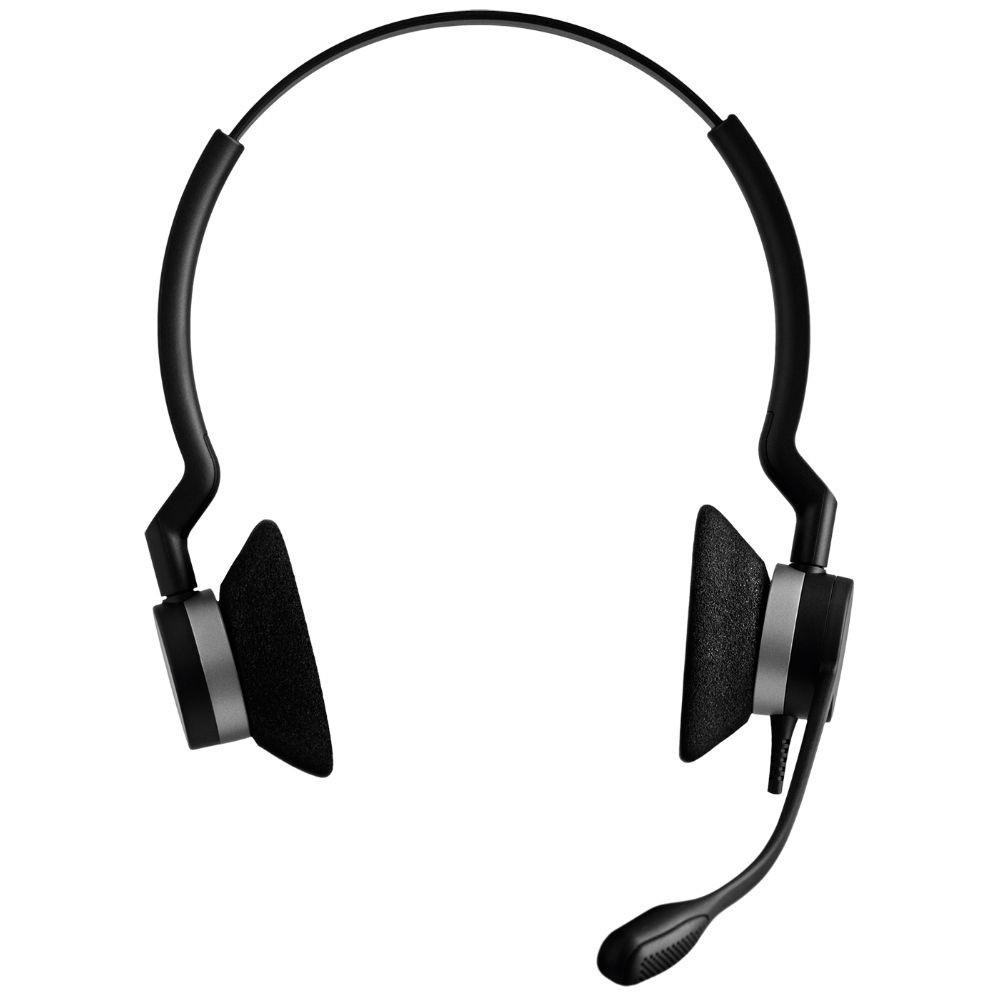Jabra Biz 2300 MS Duo USB-C Headset (Black)