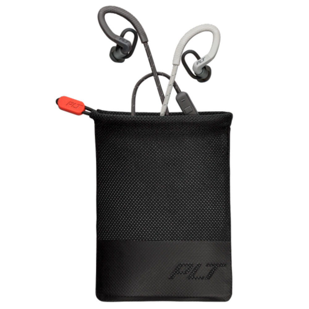 Plantronics BackBeat Fit 350 Wireless Sport Earbuds (Grey)
