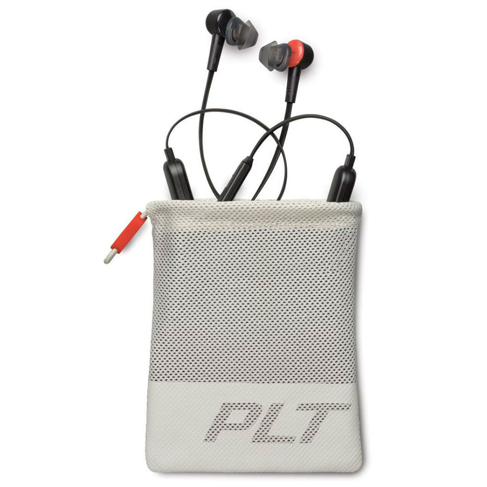 Plantronics BackBeat Go 410 Wireless Active Noise Cancelling Earbuds (Graphite)
