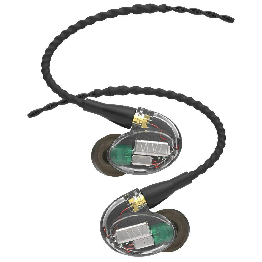 Westone UM PRO 30 Triple Driver In-Ear Monitors With Removable MMCX Audio Cable (Clear)