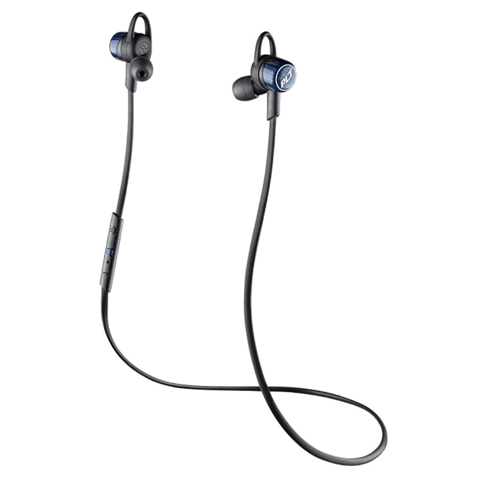 Plantronics BackBeat Go 3 Bluetooth Wireless Earbuds With Charging Case (Black)