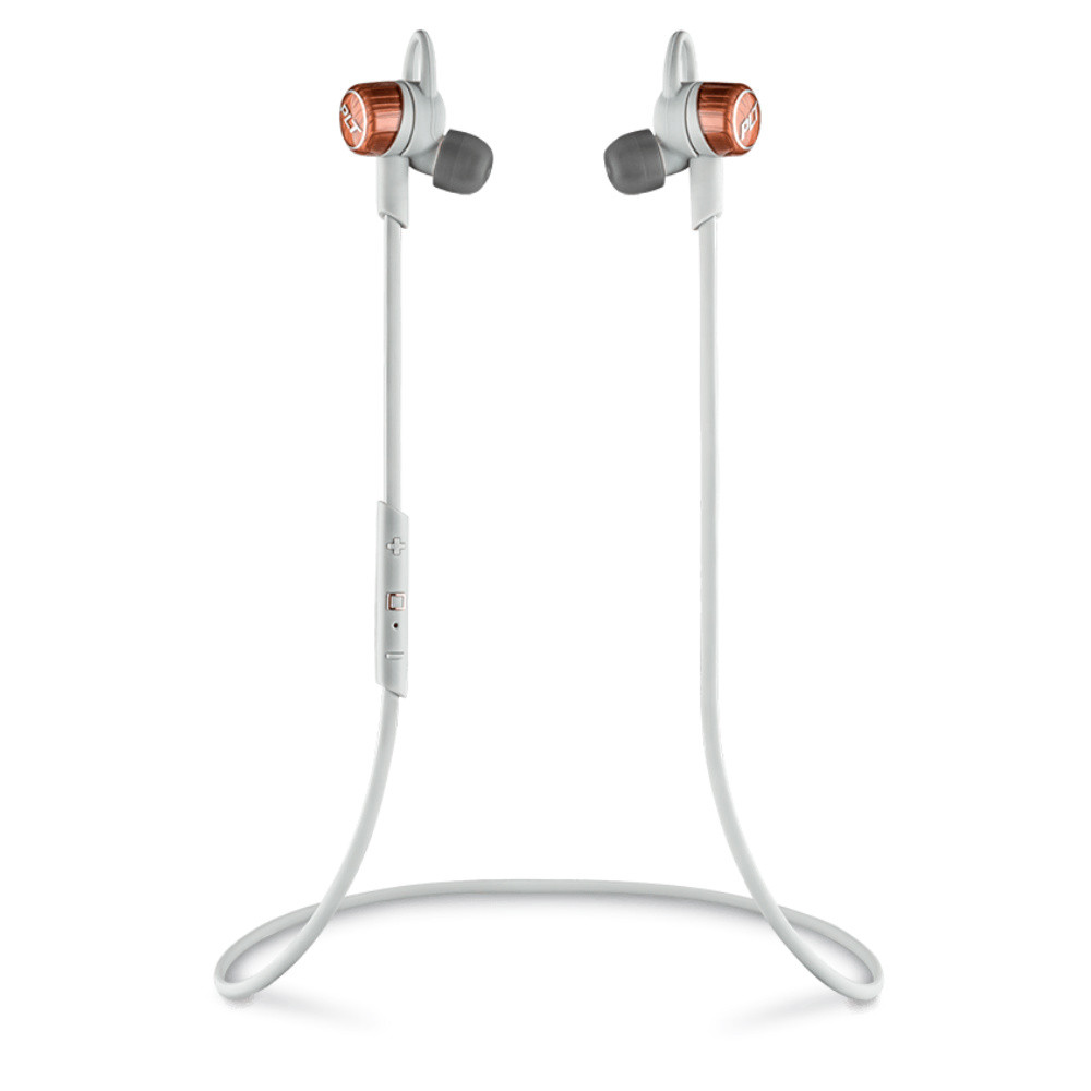 Plantronics BackBeat Go 3 Bluetooth Wireless Earbuds With Charging Case (Grey)