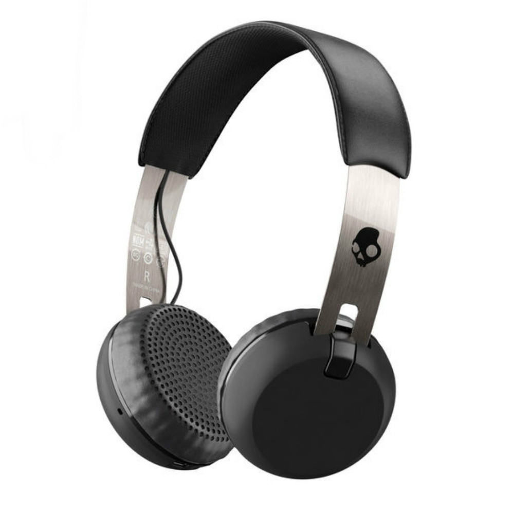 Skullcandy Grind Wireless Headphones With Mic (Black)