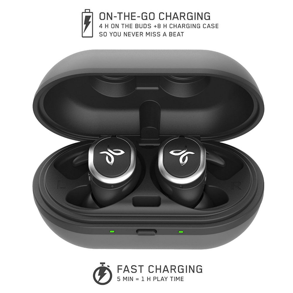Jaybird Run True Wireless Sports Earbuds (Jet)
