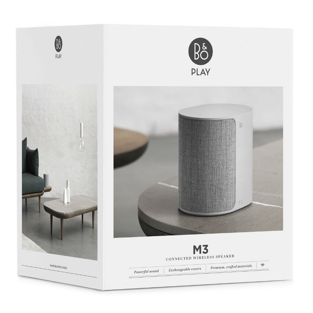B&O PLAY Beoplay M3 Wireless Bluetooth Speaker (Natural)