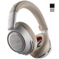 Plantronics Voyager 8200 UC Noise Cancelling Wireless Headset With USB Adaptor (White)