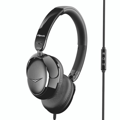 Klipsch Image One (II) On-Ear Headphones (Black)