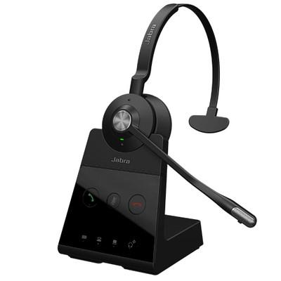 Jabra Engage 65 Mono Wireless Noise Cancelling Headset With Charging Base (Black)