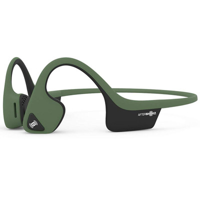 Aftershokz Trekz Air Wireless Bone Conducting Headphones (Forest Green)