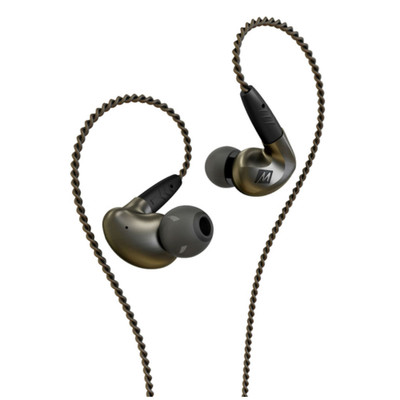 Mee Audio Pinnacle P1 High Fidelity Audiophile In-Ear Monitors (Black)