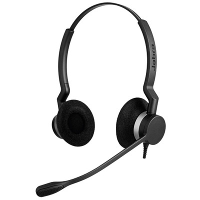 Jabra Biz 2300 MS Duo USB-C Headset (Black)