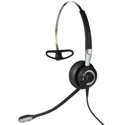 Jabra Biz 2400 II MS Mono Corded Headset, USB, BT
