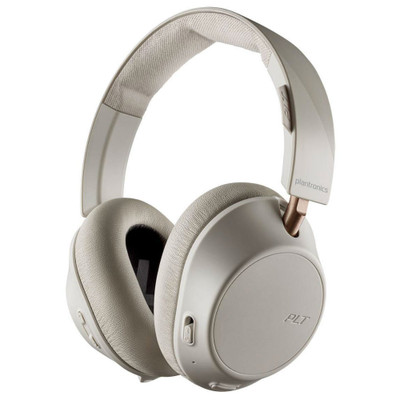 Plantronics BackBeat Go 810 Wireless Active Noise Cancelling Headphones (Bone White)