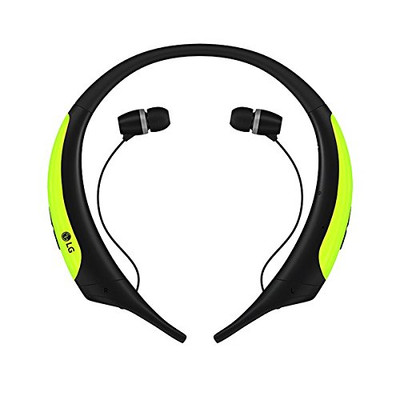 LG Tone Active HBS-850 Premium Wireless Bluetooth Headset (Lime)