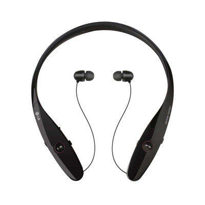 LG Tone Infinim HBS-900 Premium Wireless Bluetooth Headset (Black)