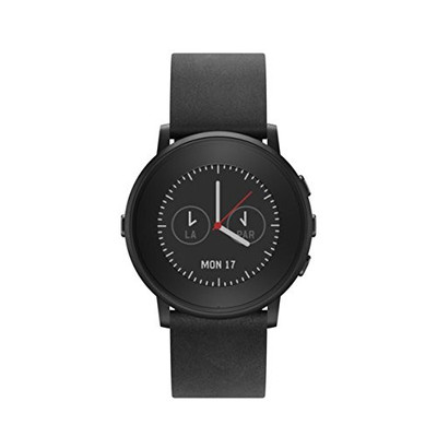 Pebble Time Round Smartwatch (Black)