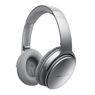Bose QC35 QuietComfort 35 Wireless Noise Cancelling Headphones (Silver)
