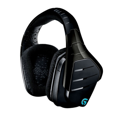 Logitech G933 Artemis Spectrum 7.1 Surround Sound Wireless Gaming Headset (Black)