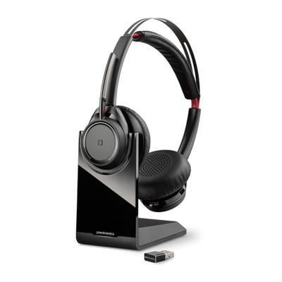 Plantronics Voyager Focus UC B825-M Microsoft Noise Cancelling Bluetooth Headset (Black)