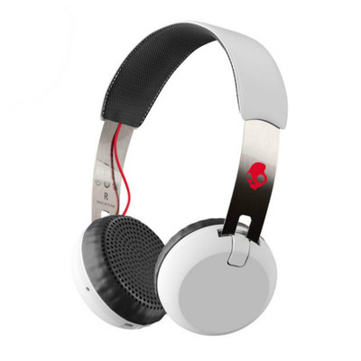 Skullcandy Grind Wireless Headphones With Mic (White)