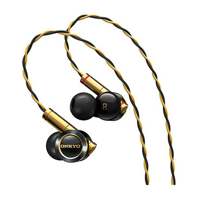 Onkyo E900M Hybrid Architecture In-Ear Earphones (Black)