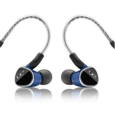 Logitech UE 900S Noise Isolating In Ear Monitors (Black/Blue)