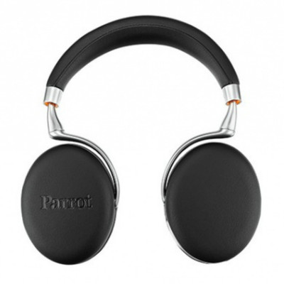 Parrot Zik 3 Wireless Noise Cancelling Headphones (Black Leather Grain)