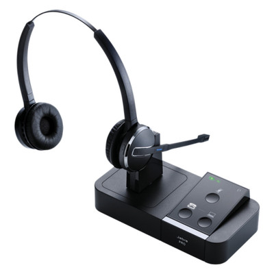 Jabra Pro 9450 Duo Professional Wireless Headset (Black)