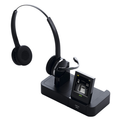 Jabra Pro 9465 Duo Professional Wireless Headset (Black)