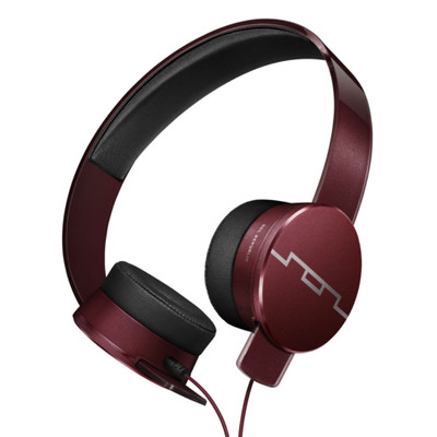 Sol Republic Master Tracks HD2 On Ear Headphones (Red)