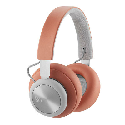 B&O PLAY BeoPlay H4 Wireless Over Ear Headphones (Tangerine Grey)