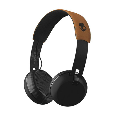 Skullcandy Grind Wireless Headphones With Mic (Tan)