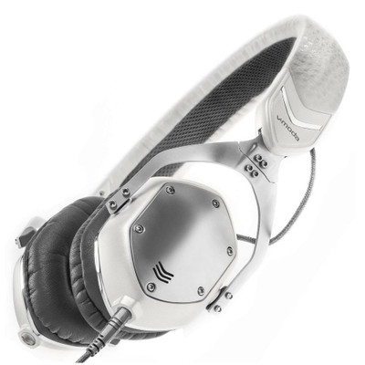 V-MODA XS 3D Custom On-Ear Headphone (White Silver)