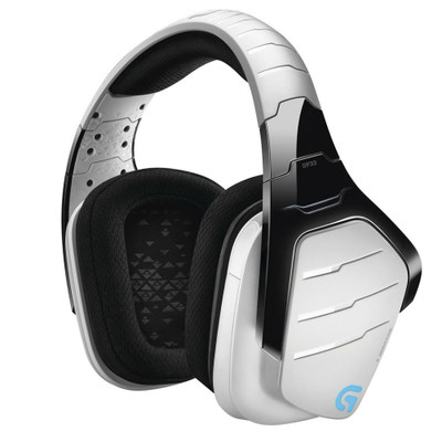 Logitech G933 Artemis Spectrum 7.1 Surround Sound Wireless Gaming Headset (Snow)