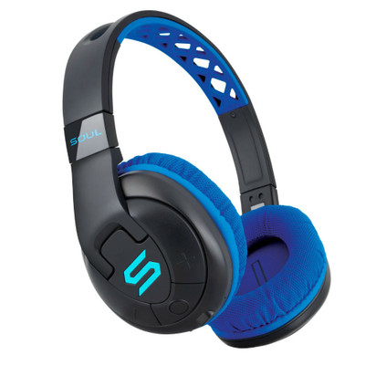Soul X-TRA Wireless Bluetooth Over-Ear Headphones (Blue)