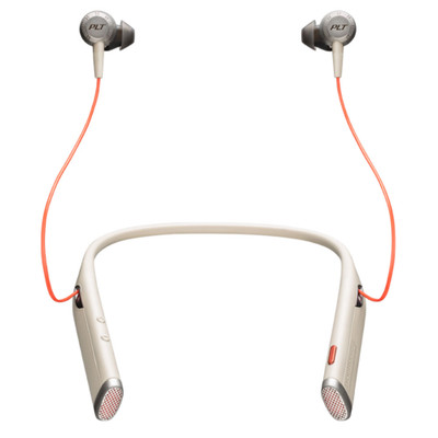 Plantronics Voyager 6200 UC Noise Cancelling Wireless Headset With USB Adaptor (Sand)