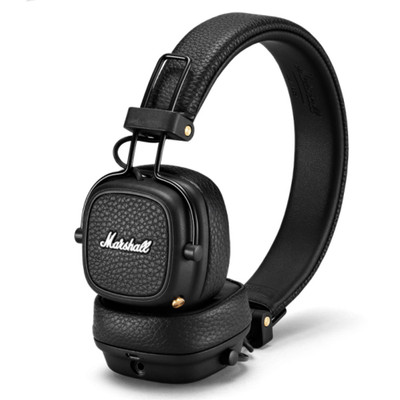 Marshall Major III Bluetooth On-Ear Headphones (Black)