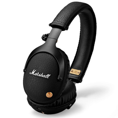 Marshall Monitor Bluetooth Over-Ear Headphones (Black)