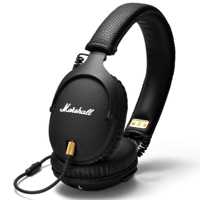 Marshall Monitor Black Over-Ear Headphones (Black)