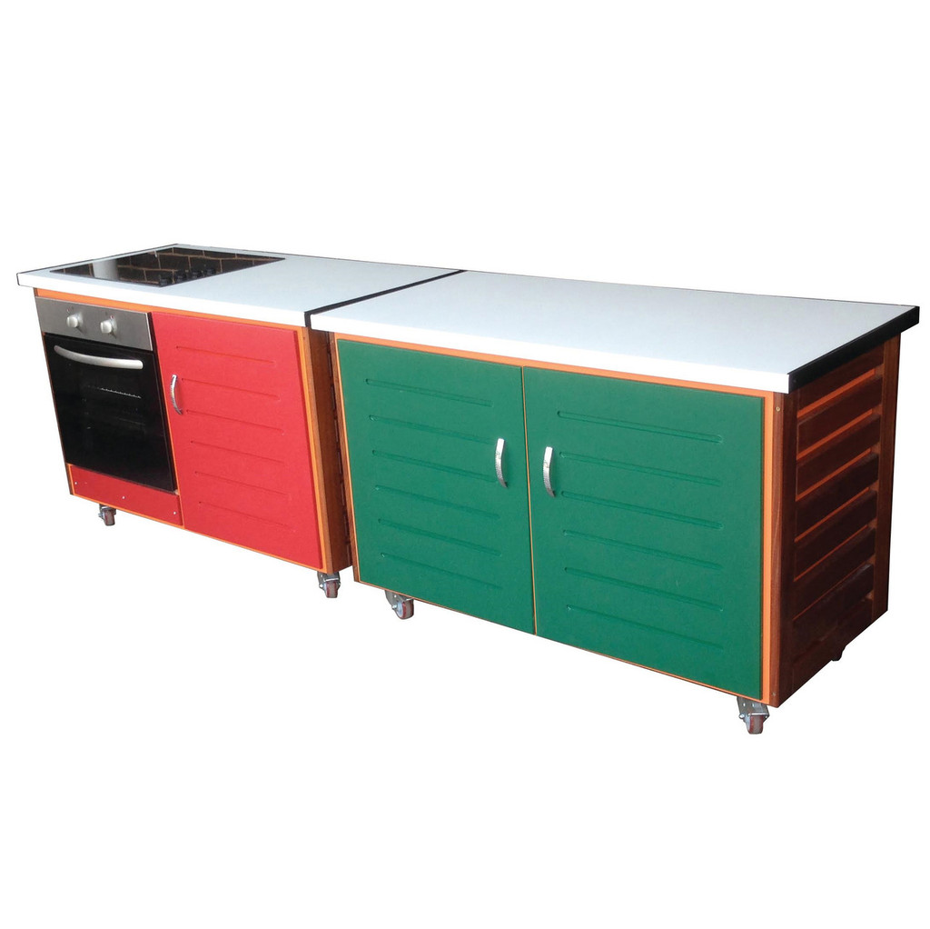 CTA 6 with cooker and hob