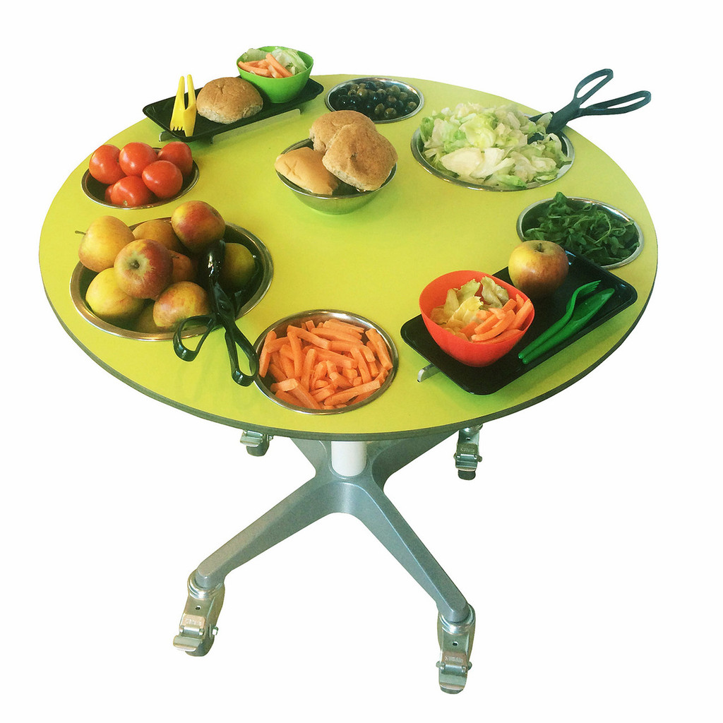 Fold away Salad Station