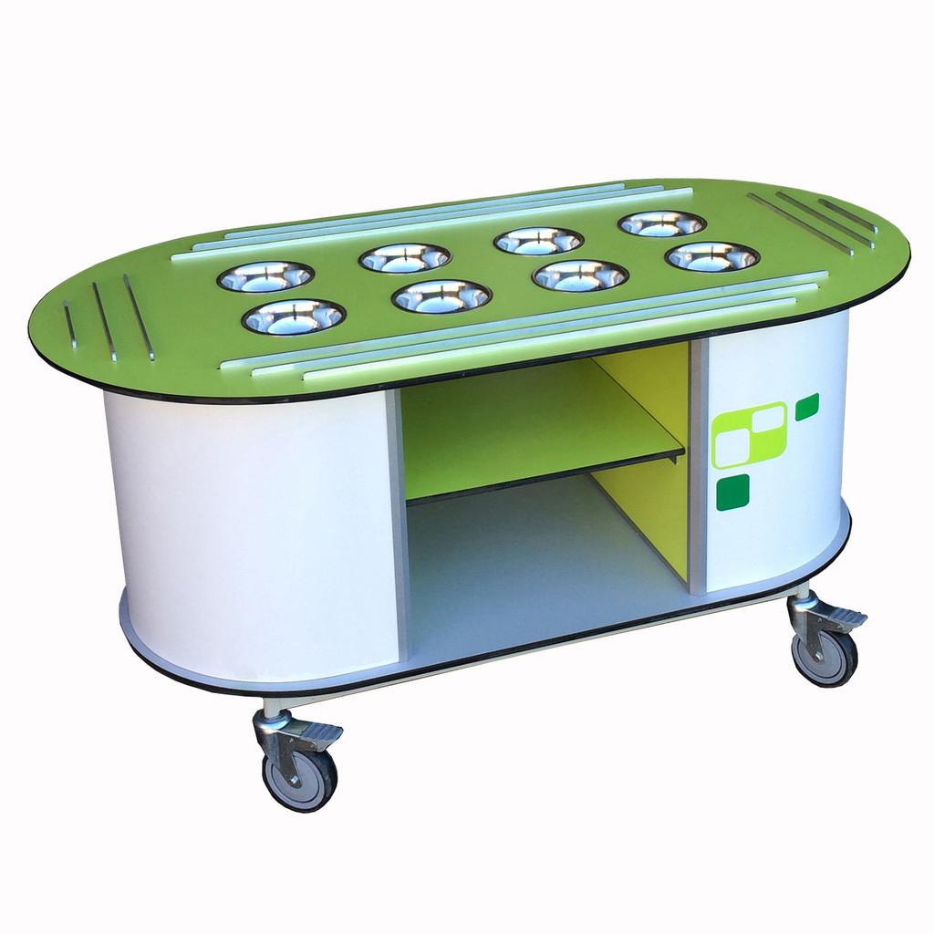 Aqua Primary Salad Station (SBT026 /028)