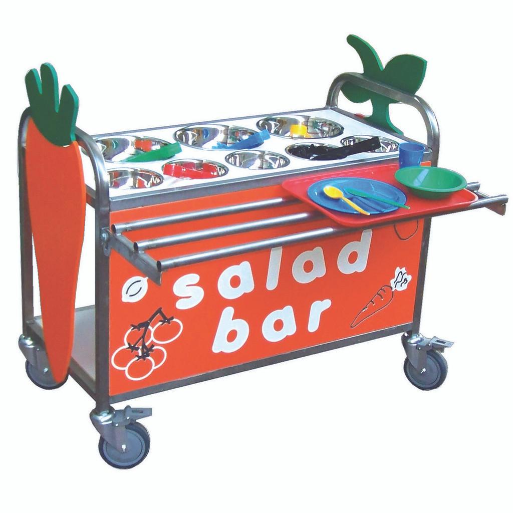 Stainless Steel Salad Bar