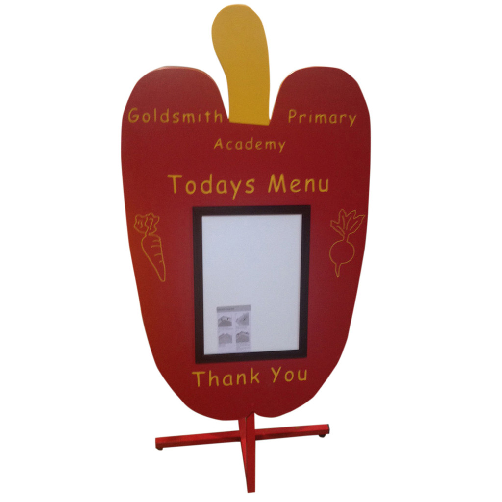 Pepper Display Sign