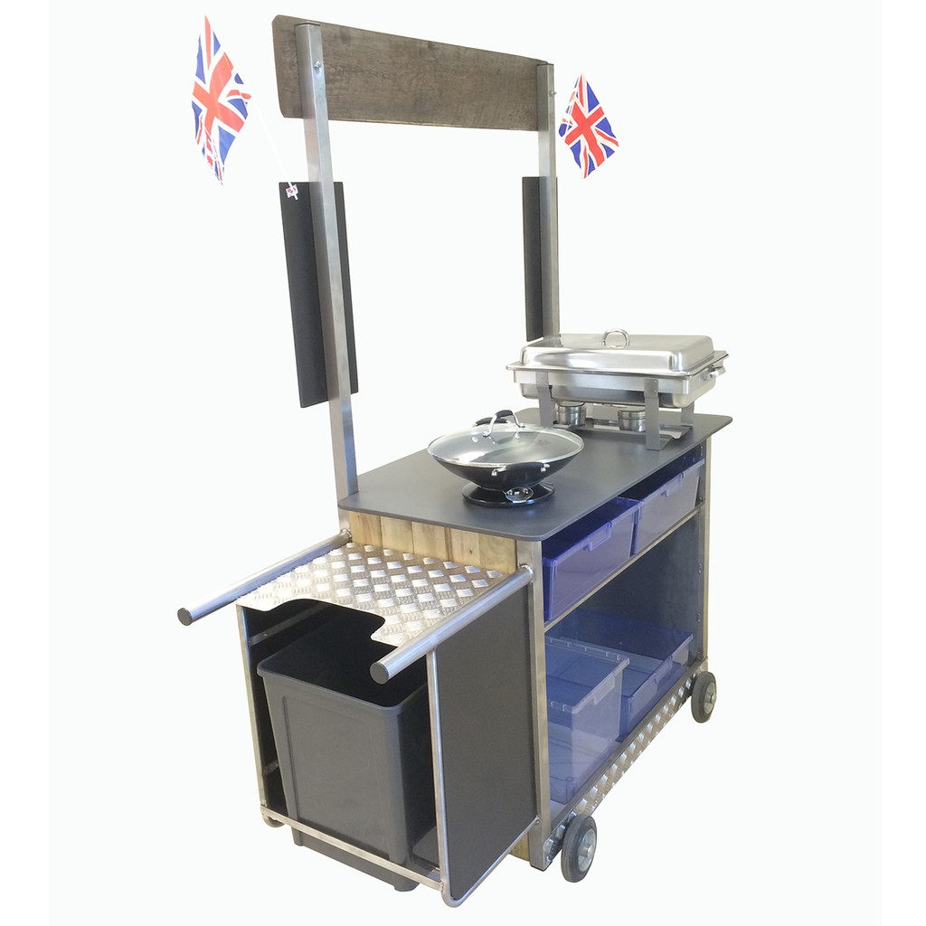 Street Food Cooking Trolley (2SFCT)