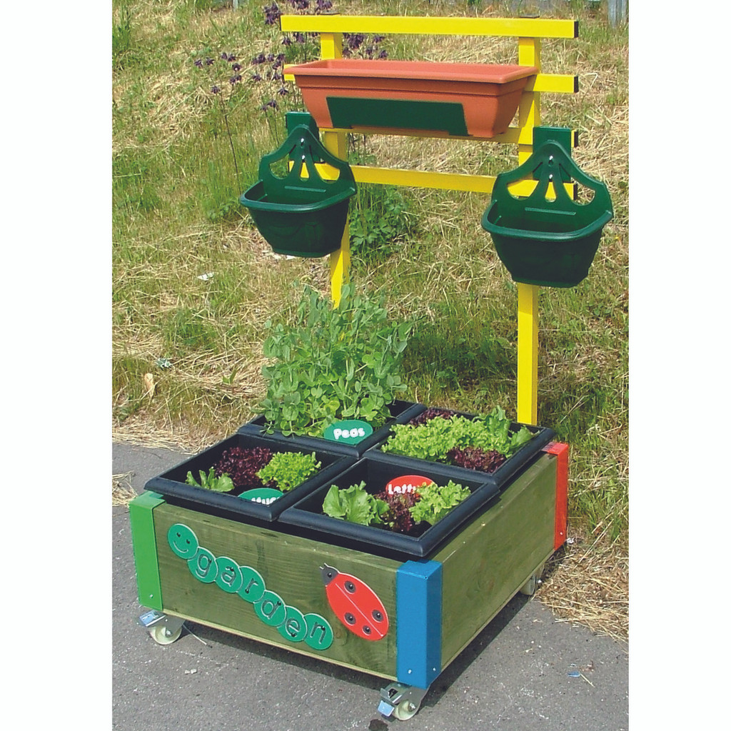 Special low level box to allow easy access for Foundation Stage children